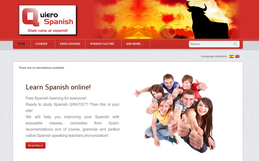 www.quierospanish.com