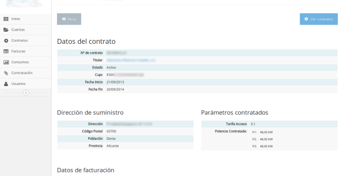private customer area developed in yii framework and sugarcrm