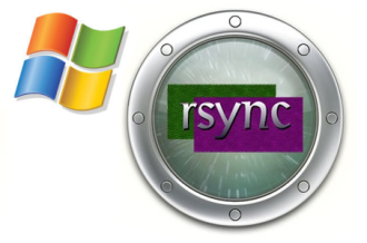 Perfom Windows backups using rsync and DeltaCopy Server