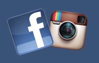Instagram-Facebook logos
