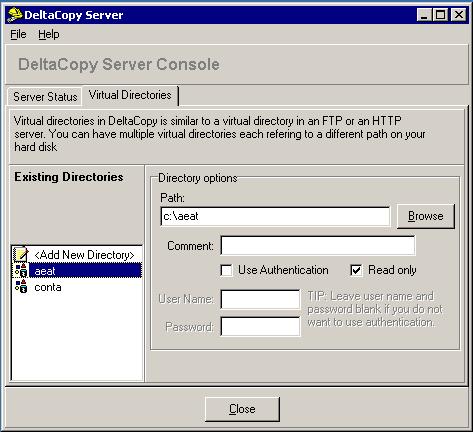 Perfom Windows backups using rsync and DeltaCopy Server