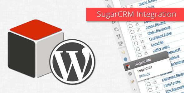 SugarCRM-Wordpress integration