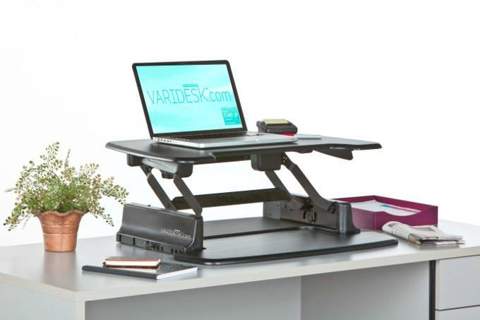 Varidesk adjustable height desk