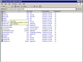 Users public key folder
