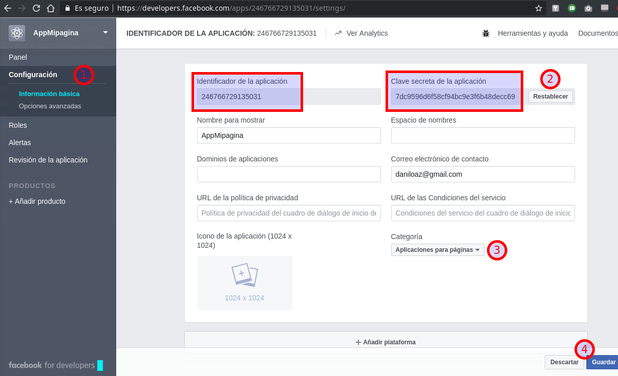 How to get a permanent token to access a Facebook page