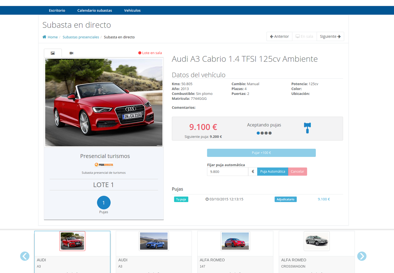 Car Auctions Online >> Web Application For Live Onsite And Online Car Auctions Daniloaz Com