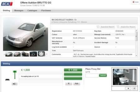 BCA bidding